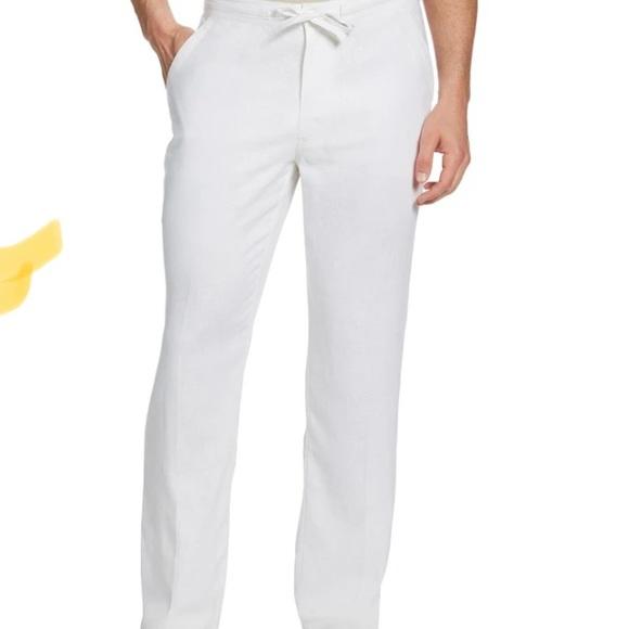 Cubavera Linen Blend Pants Size XXL
